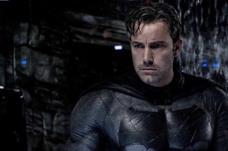 Ben Affleck encarnando a Batman en la cinta Batman v Superman (2016).