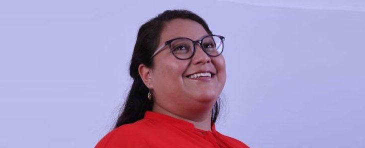 Citlalli Hernández, senadora de Morena.