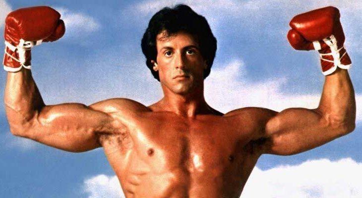 Promocional de Rocky III (1982).