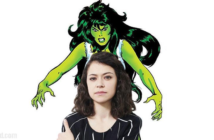 Tatiana Maslany dará vida a She-Hulk.
