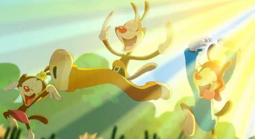 Animaniacs estarán de regreso en noviembre.
