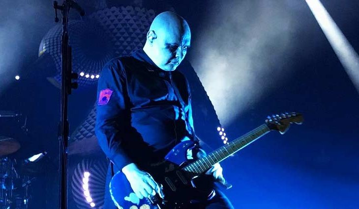 Billy Corgan en vivo.