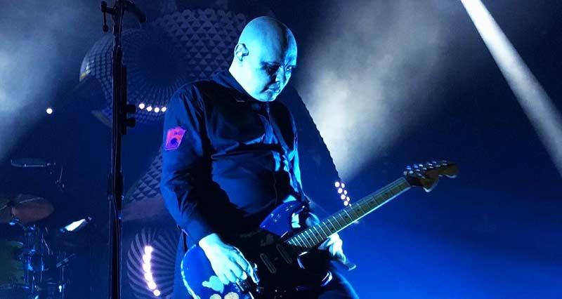 Billy Corgan en vivo.