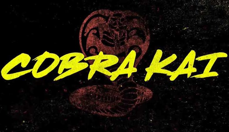 Título de la tercera temporada de Cobra Kai.