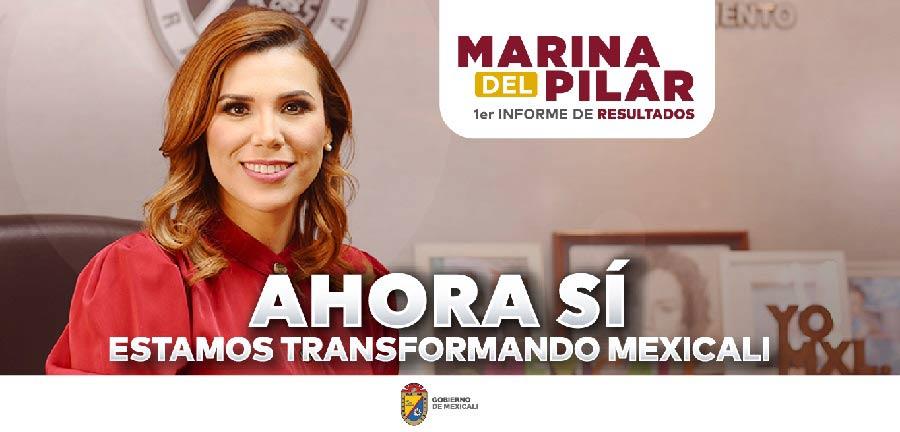 Parte de la propaganda de Marina del Pilar.