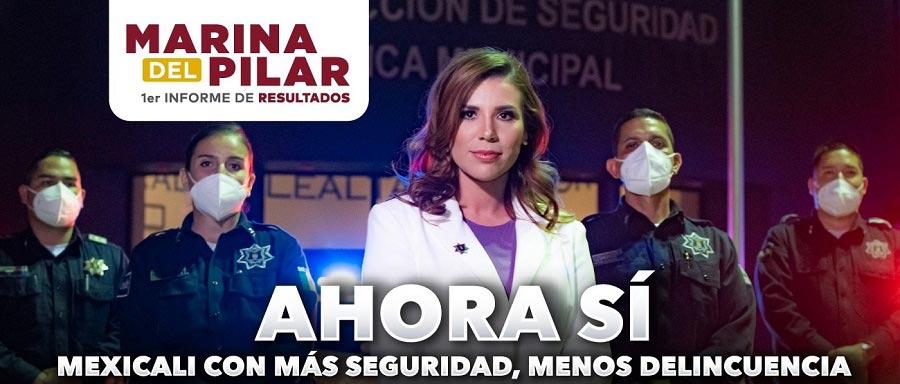 La primera imagen compartida de Marina del Pilar sobre su 1er informe de resultados.