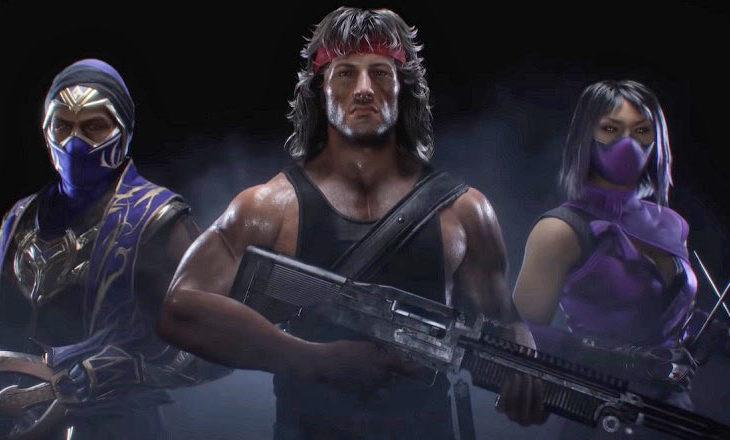 Rambo en Mortal Kombat 11.