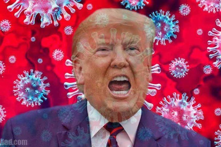 Trump tiene coronavirus.