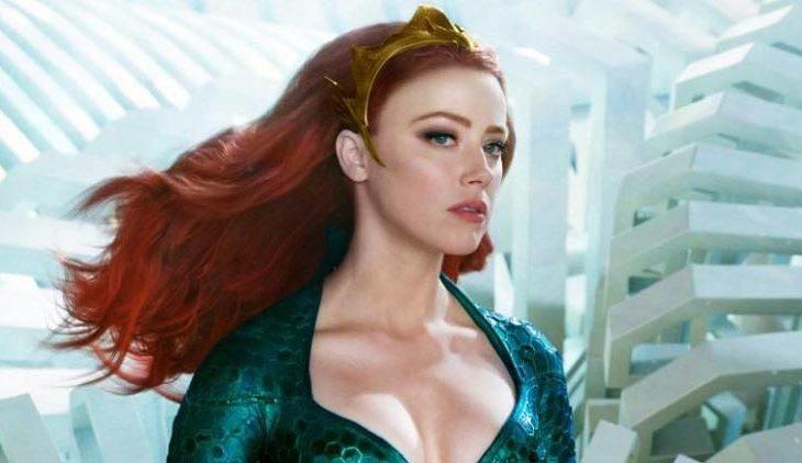 Quieren fuera a Amber Heard de Aquaman 2.