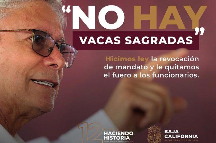Propaganda gubernamental de Jaime Bonilla.
