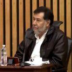El diputado Fernández Noroña en el momento de la discusión en el INE.