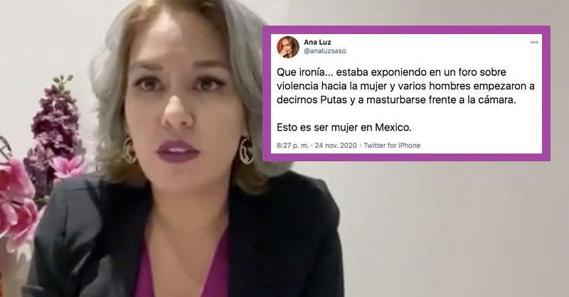 Regidora Monreal y el tweet de una presunta participante.