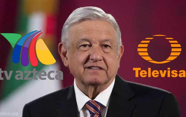 AMLO y los contratos jugosos con TV Azteca y Televisa.