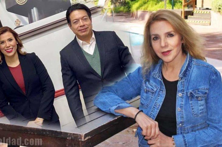 Marina del Pilar, Mario Delgado y Guadalupe Lizárraga.