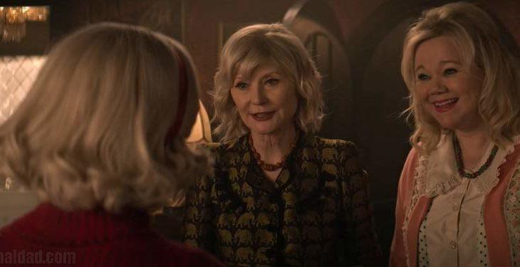 Captura de pantalla del nuevo avance de El Mundo Oculto de Sabrina.