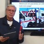 Jaime Bonilla reprocha a la Cruz Roja.