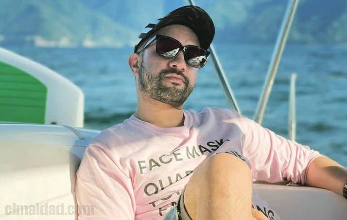 Chumel Torres en su viaje a Puerto Vallarta a principios de diciembre 2020.
