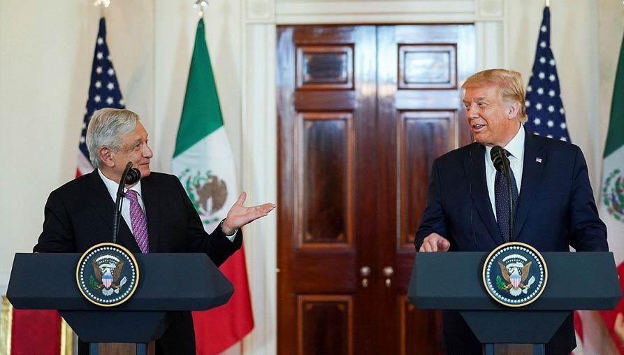 Un pareja de idiotas: AMLO y Trump.