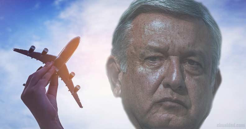 AMLO ya no sabe como deshacerse del avión presidencial.