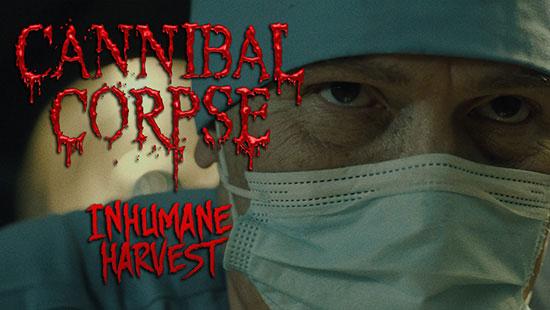 Portada del video clip de Cannibal Corpse.