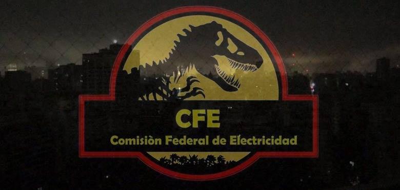 Apagones por la CFE.