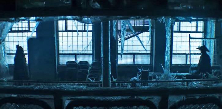 Captura de pantalla del trailer oficial de Mortal Kombat (2021).