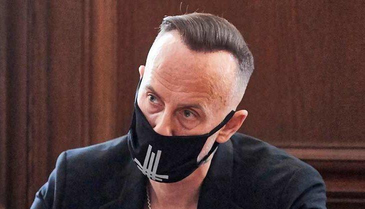 Nergal declarando ante las autoridades polacas.
