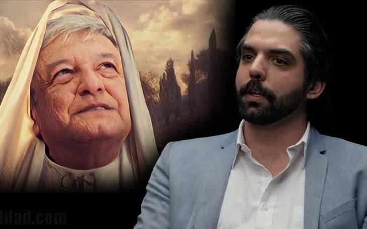 Antonio Attolini dice que AMLO está al nivel de Jesucristo.