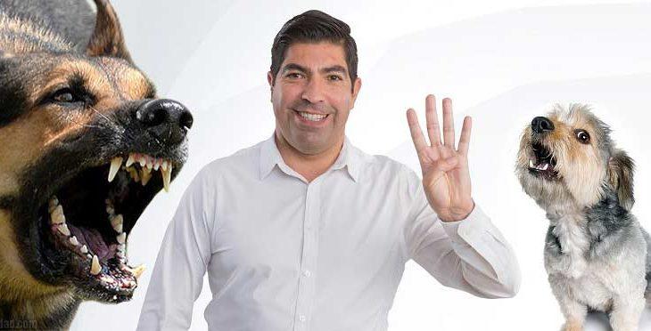 """Armando Ayala les dijo perros rabiosos a los """"contras""""."""