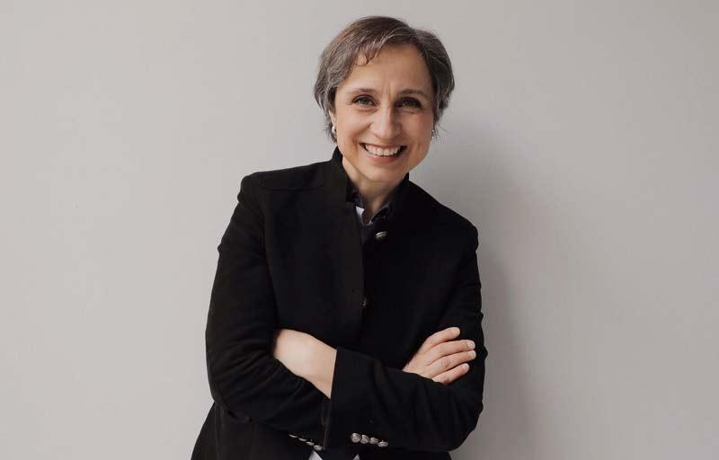 Carmen Aristegui.