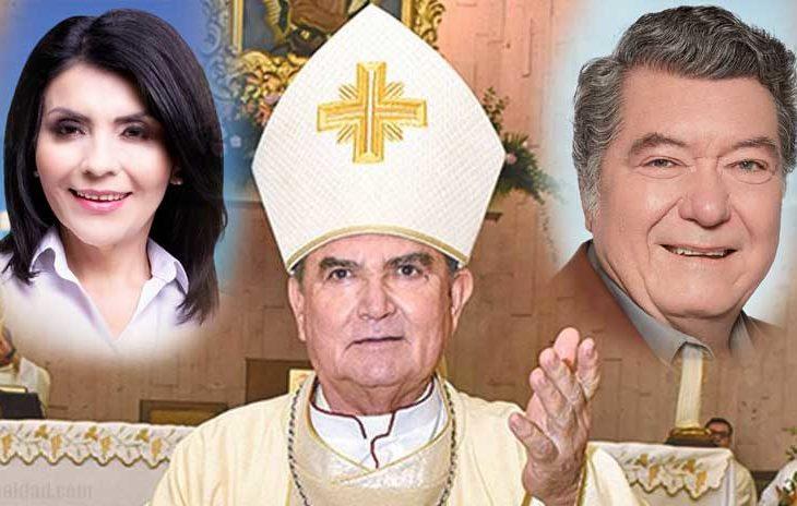 Obispo Guerrero Macías pidió a los feligreses rezar por Eva y Hank.