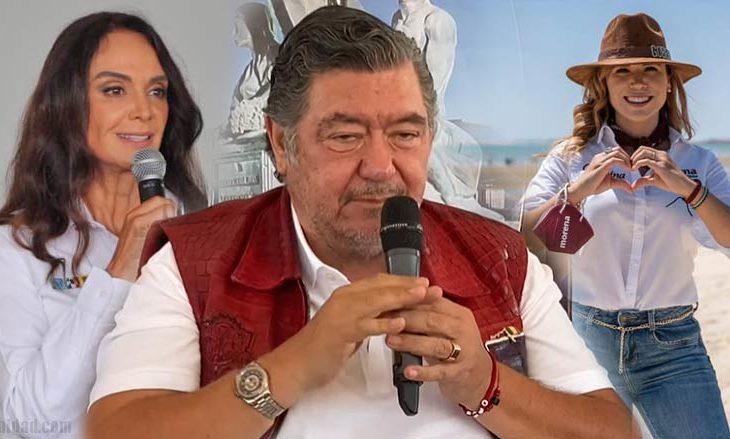 Lupita, Jorge y Marina.