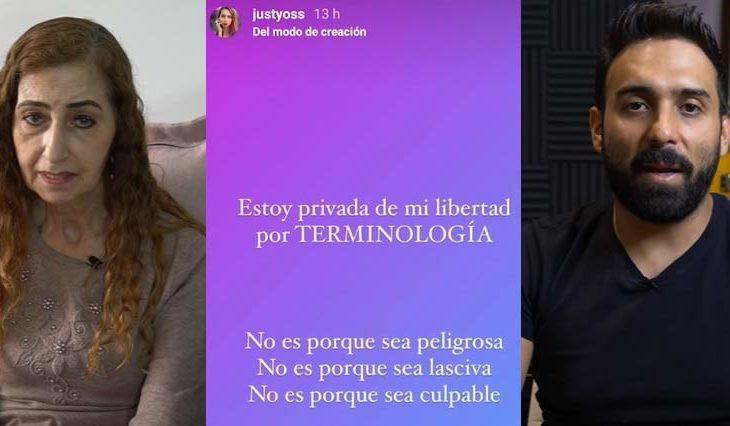 Marina, historia en Instagram de YosStop y Gerardo González.