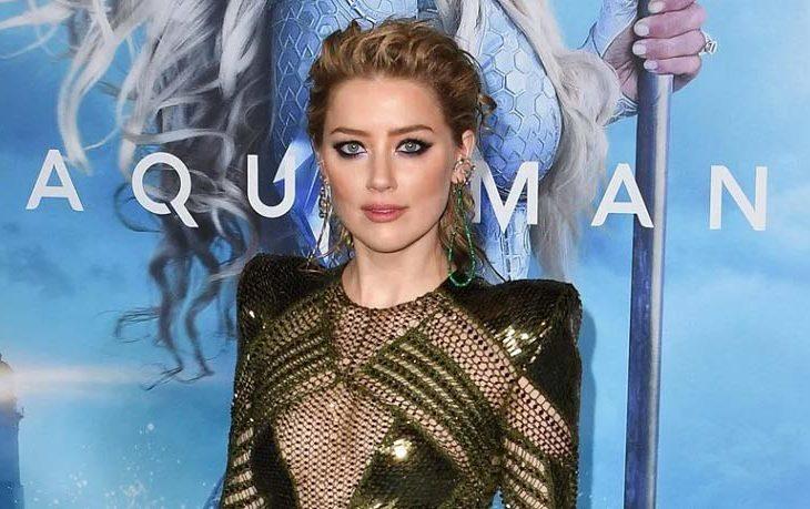 Amber Heard es Mera en Aquaman.