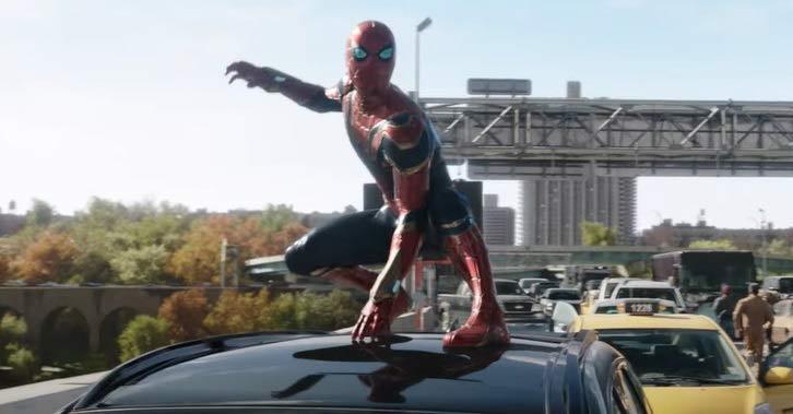 Foto captura del teaser del trailer de Spider-Man: Sin Camino a Casa.