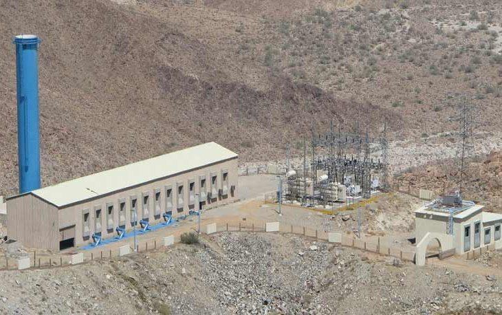 Acueducto de La Rumorosa, Baja California.