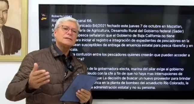 Jaime Bonilla, gobernador de Baja California.