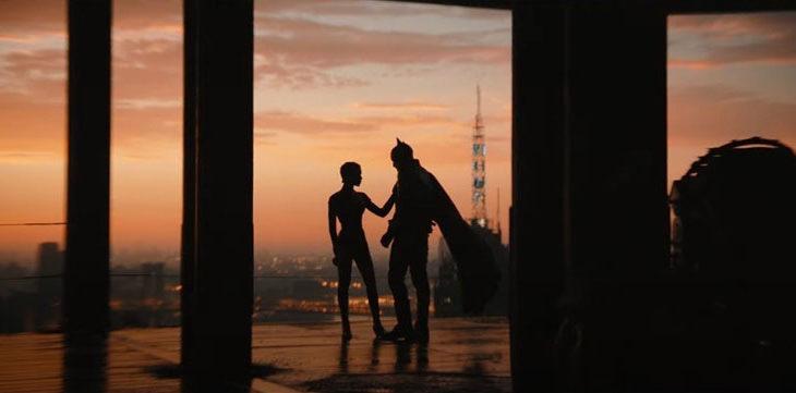 Captura de pantalla del trailer principal de The Batman.